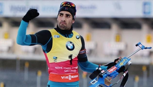 Біатлон: француз Фуркад виграв гонку переслідування в Рупольдінгу; Прима - 11-й