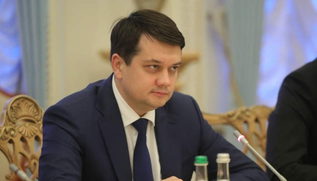 Разумков считает, что будет достаточно и 300 депутатов в Раде