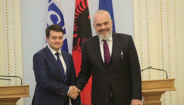 Перемир'я на Донбасі: Разумков сподівається на допомогу нового голови ОБСЄ