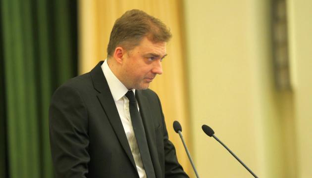 Міністр оборони вручив пам'ятні знаки рідним загиблих