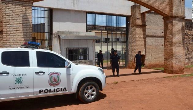 З парагвайської в'язниці втекли понад 70 небезпечних злочинців