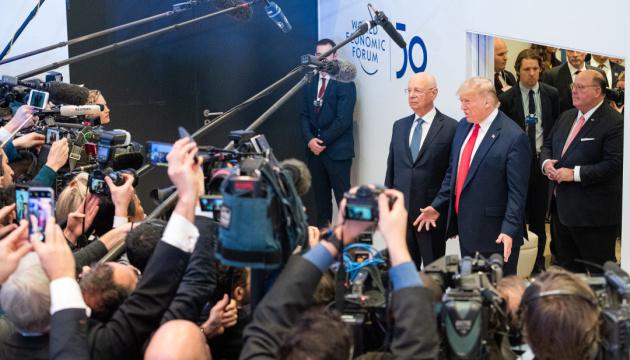 Трамп в Давосе призвал страны ЕС покупать энергопродукты из США