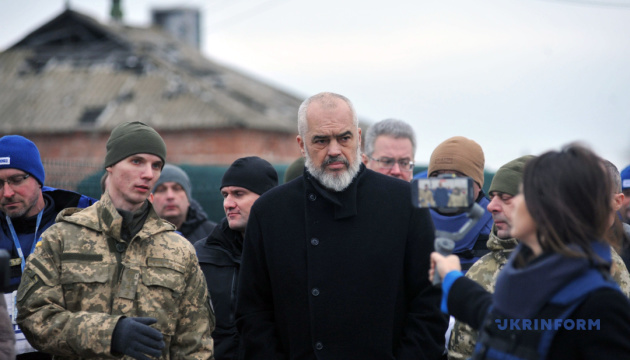 Мир в Украине является приоритетом албанского председательства в ОБСЕ - Эди Рама