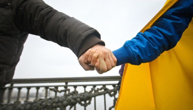 Les « chaînes vivantes de l'Unité » dans l'histoire de l'Ukraine
