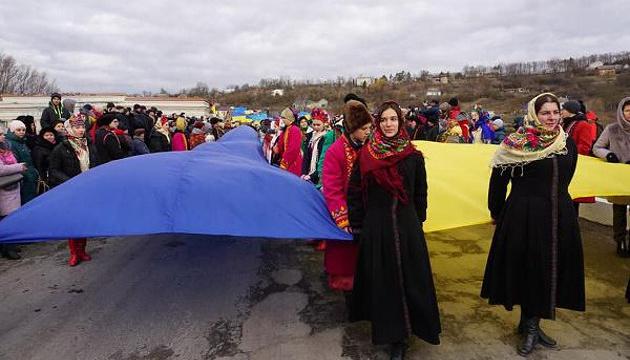 Тернопільщина та Хмельниччина зустрілися на мосту через Збруч