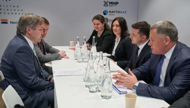 Zelensky y MacLennan discuten los préstamos a agricultores ucranianos y la reforma de Ukrzaliznytsia