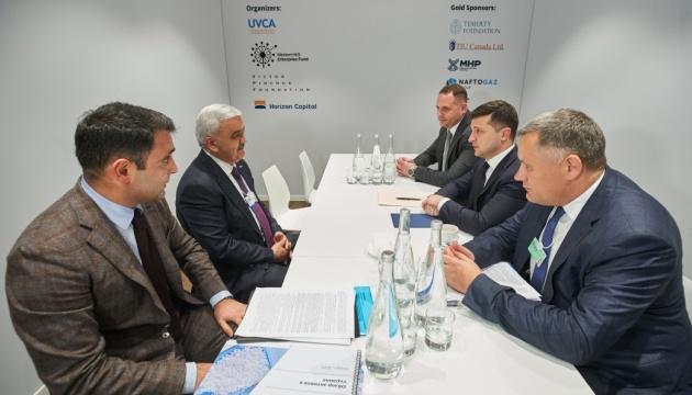 Зеленский встретился с президентом компании SOCAR