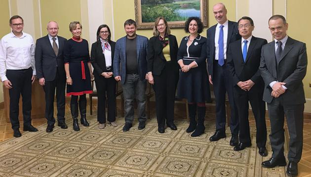 Посли країн G7 обговорили з Богданом наступні кроки для втілення реформ