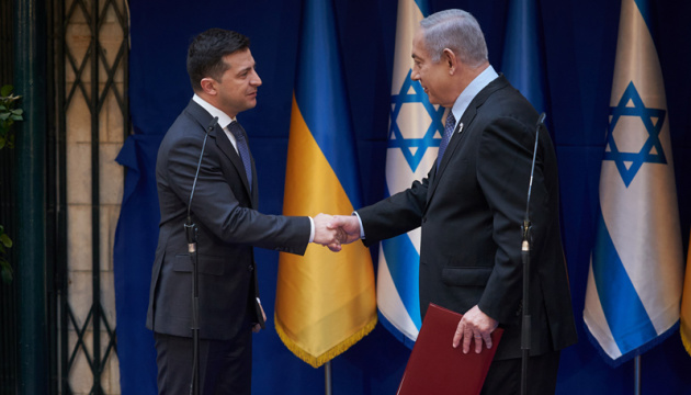 Zelensky meets with Netanyahu