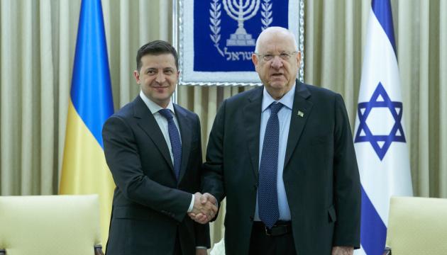 Zelensky : le chiffre d'affaires commercial avec Israël pourrait augmenter à 2 milliards de dollars à court terme