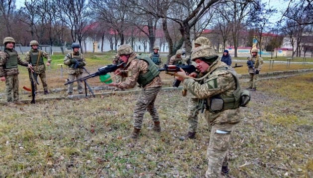 На Одещині морпіхів тренують за британською програмою Orbital