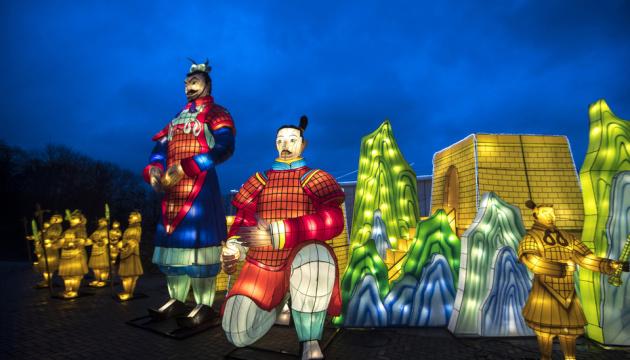 Кличко пригласил киевлян на фестиваль гигантских китайских фонарей