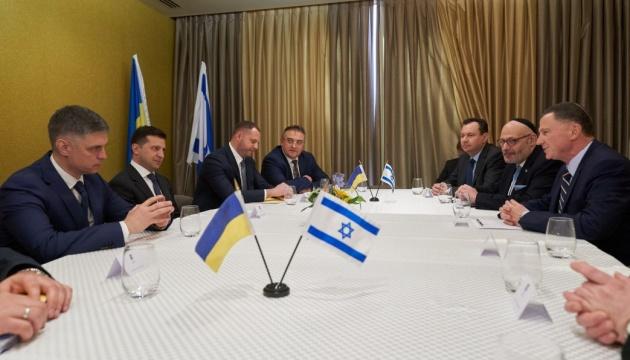 Зеленський закликав спікера Кнесету Ізраїлю ратифікувати угоду про ЗВТ