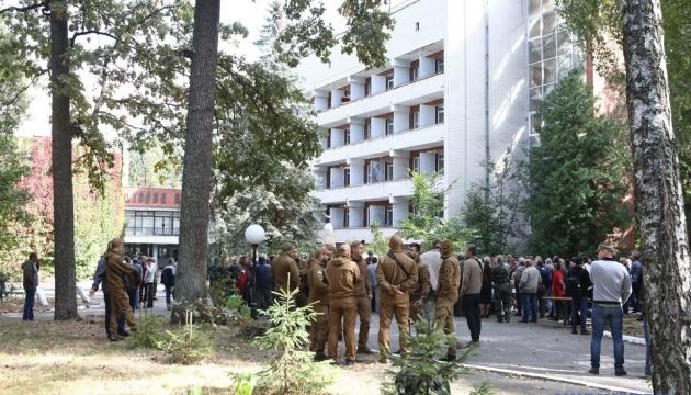 На реабілітацію до Пущі-Водиці направили 41 визволеного з ОРДЛО