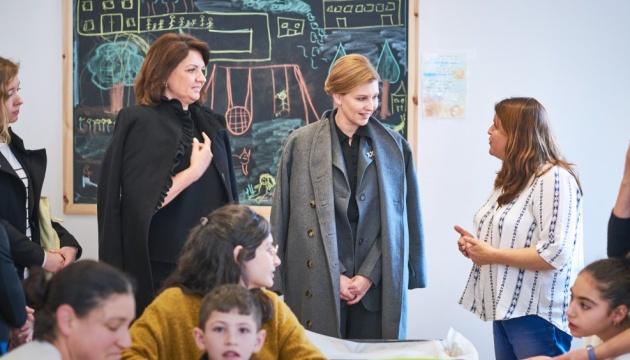 Елене Зеленськой показали израильскую систему социализации детей с инвалидностью