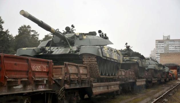 Киевский бронетанковый завод отгрузил в войска 15 отремонтированных Т-72