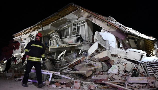 Кількість жертв землетрусу в Туреччині досягла 20