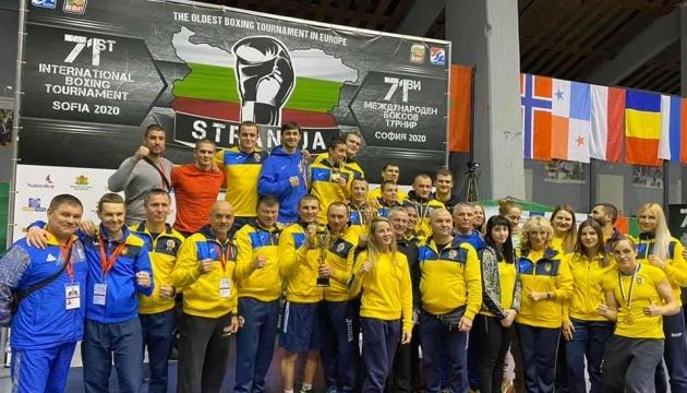 Украинские боксеры стали лучшими на турнире