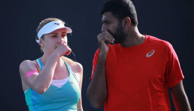 Надія Кіченок вийшла до чвертьфіналу Australian Open у змішаному розряді