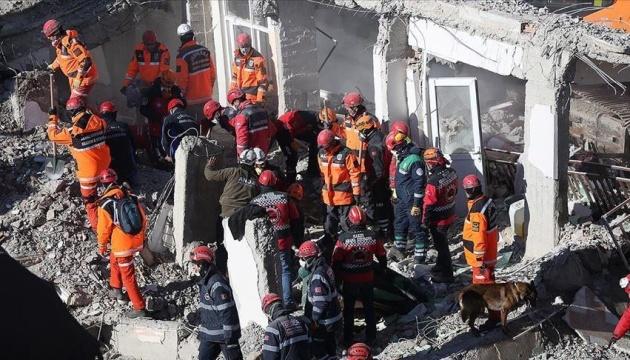 Землетрус у Туреччині: кількість загиблих зросла до 35