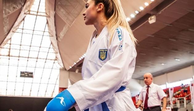 Каратэ: Терлюга выиграла «серебро» на турнире в Париже