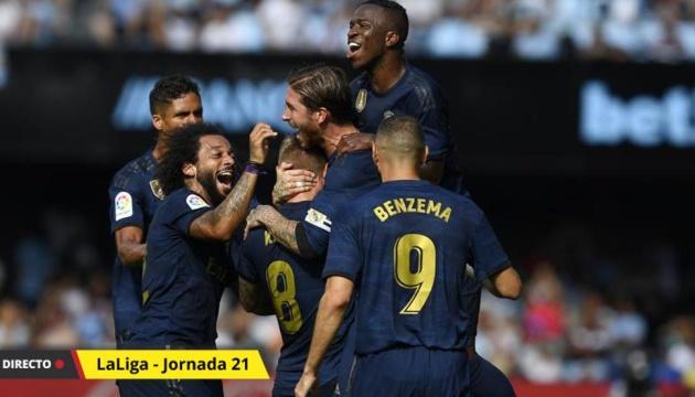 «Реал» обіграв «Вальядолід» і повернувся на перше місце Ла Ліги