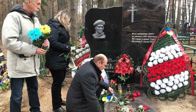 В Білорусі вшанували пам'ять Героя України Михайла Жизневського