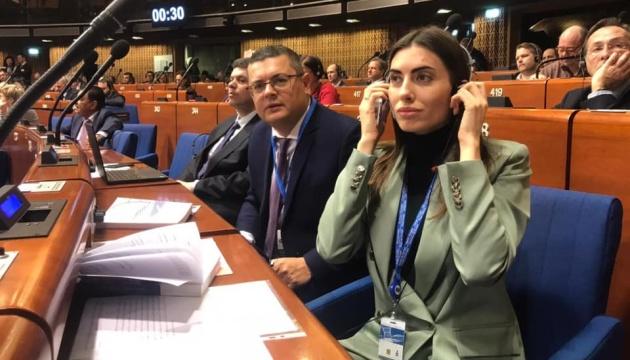 Olexandr Mereschko wird Vizepräsident der Parlamentarischen Versammlung des Europarates