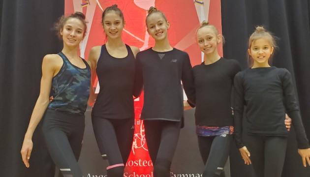 Украинки завоевали 18 медалей на турнире по художественной гимнастике в Лос-Анджелесе