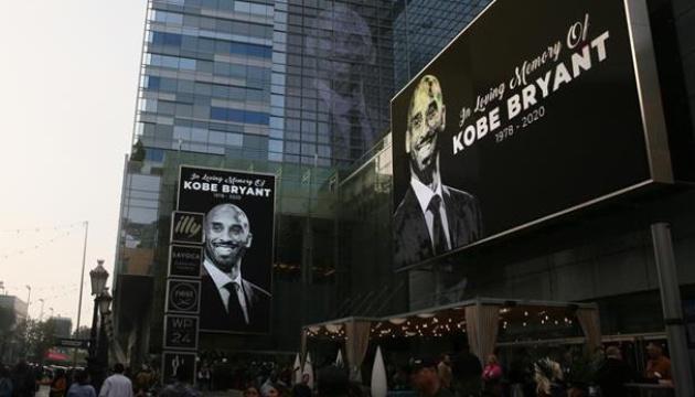 Уболівальники хочуть змінити логотип НБА на честь загиблого в авіакатастрофі Браянта