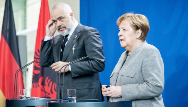 Німеччина прагне бачити Албанію членом ЄС - Меркель