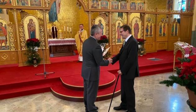 Українцям Баварії вручили подяки за участь у міжнародному проєкті про Голодомор