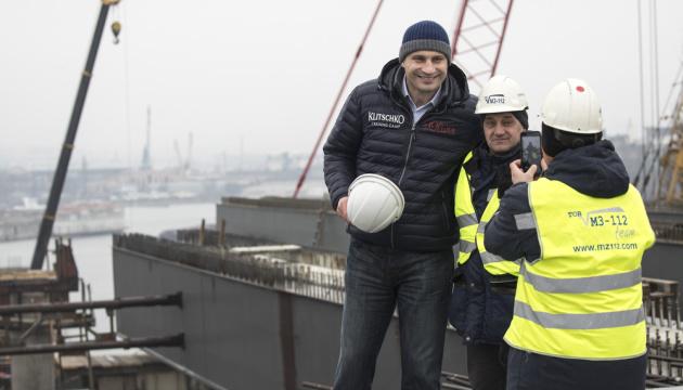 Кличко обіцяє взятися за метро на Троєщину після добудови Подільського мосту