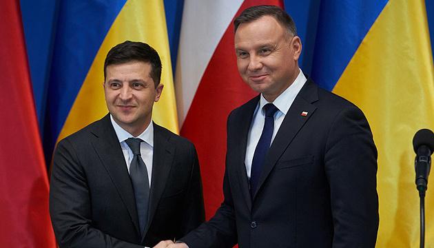 Канцелярия президента Польши: В Киеве Дуда и Зеленский примут важную стратегию действий