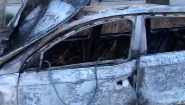 У Запоріжжі волонтеру спалили машину