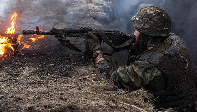 Окупанти сім разів обстріляли позиції ЗСУ, поранений боєць