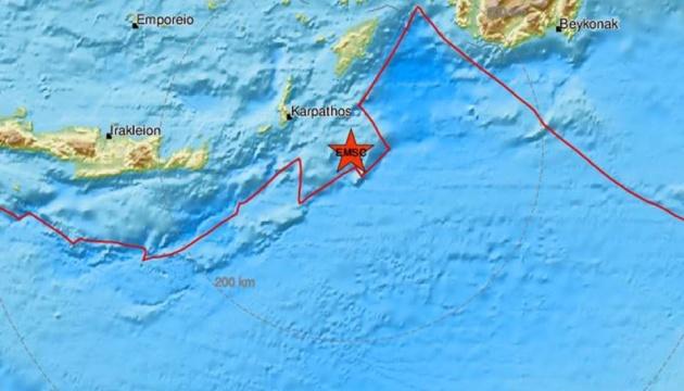 Біля грецького острова вдруге за день - потужний землетрус