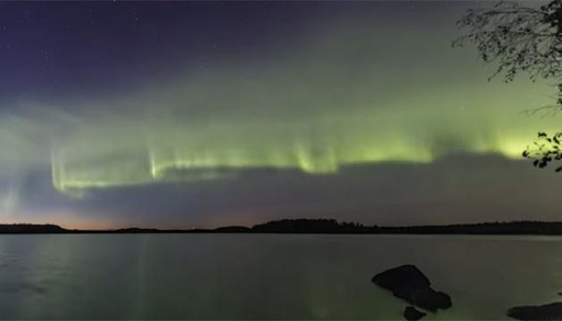 В Финляндии зафиксировали новую форму северного сияния
