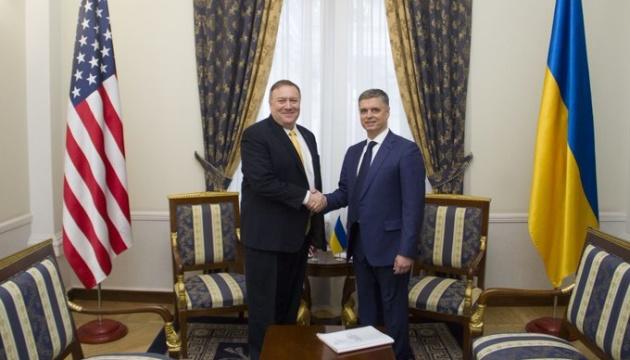 Пристайко і Помпео домовилися про поглиблення стратегічного партнерства України та США