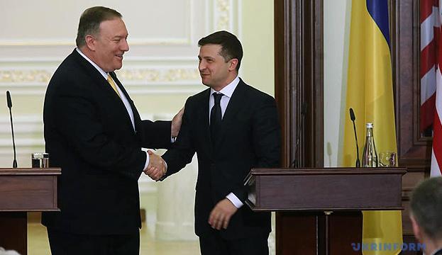 Зеленський сподівається, що Держдеп призначить свого представника щодо Донбасу і Криму
