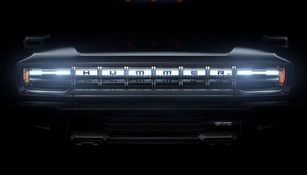 Перший електричний Hummer представлять у травні