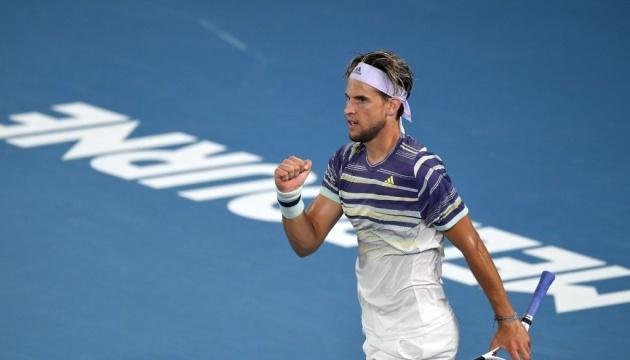 Австриец Тим стал вторым финалистом Australian Open