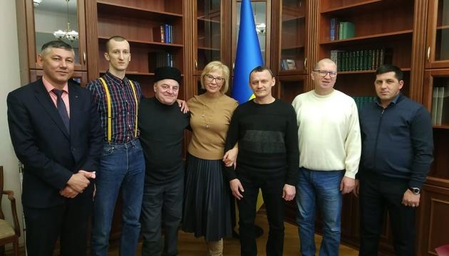 Омбудсмен зустрілася з Карпюком, Бекіровим та Кольченком