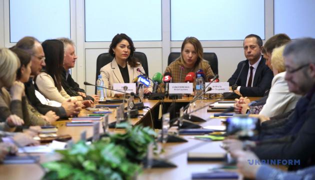 Соколовська представила нову очільницю Фонду соцстрахування