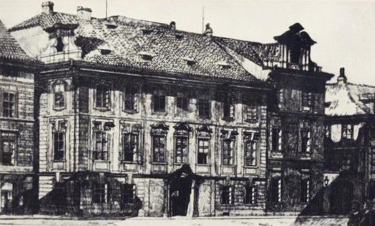 8-центральний корпус Німецької вищої технічної школи в Празі