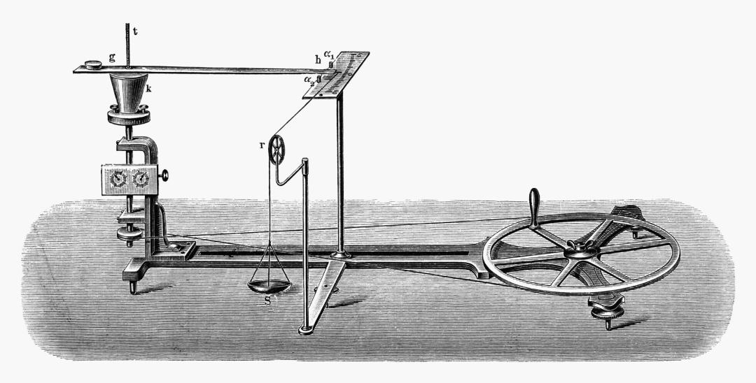 19-прилад Івана Пулюя для вимірювання механічного еквівалента теплоти_ гравюра, 1897