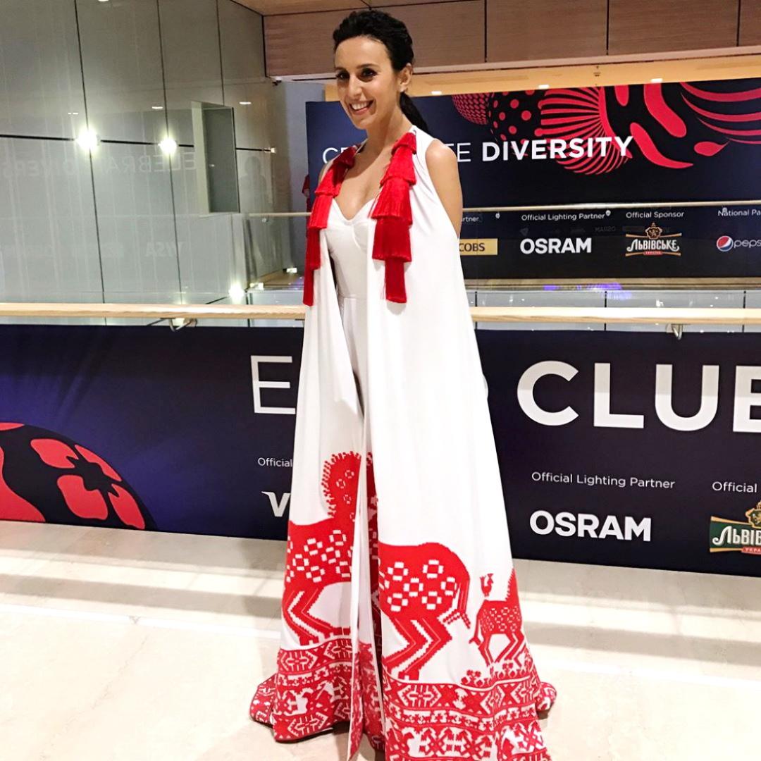 5. сукня Джалали для виступу на Євробаченні-2017