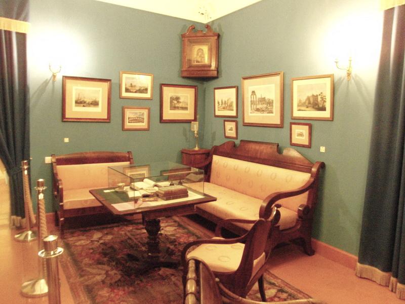 Гостиная, Музей Н.В.Гоголя на Никитском бульваре, 7А
