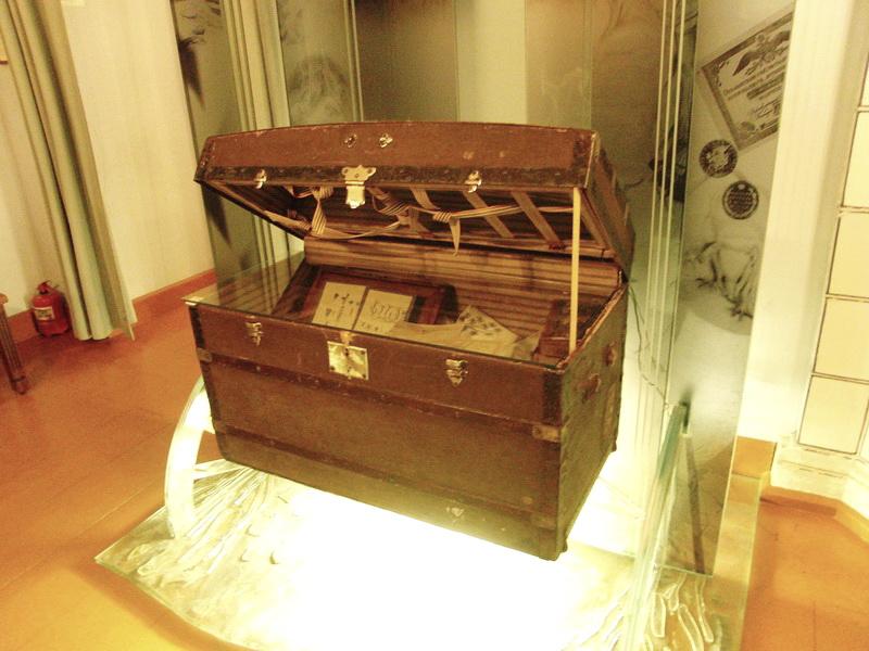 дорожный сундук писателя, Музей Н.В.Гоголя на Никитском бульваре, 7А