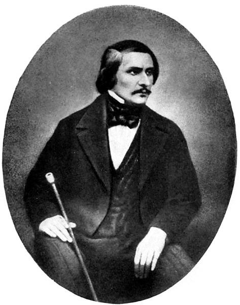 Николай Гоголь на единственном фото Сергея Левицкого, Рим, 1845 г. 1